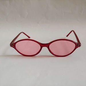 dcdea63ca Vintage 90's Cats Eye Lady Fashion Sunglasses